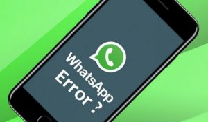 cara membuat whatsapp orang error
