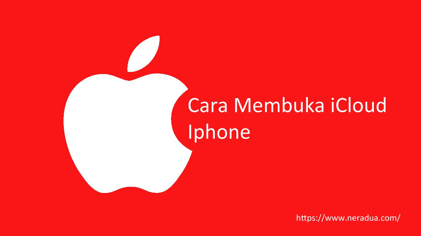 cara membuka iCloud iPhone Curian